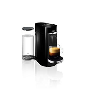 Nespresso VertuoPlus Deluxe Coffee and Espresso Maker by DeLonghi, Titan, with Best-Selling Coffees