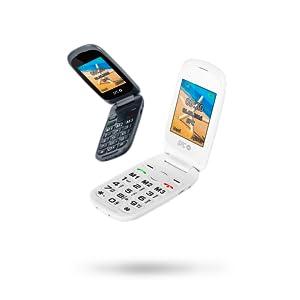 SPC Harmony - Teléfono móvil (Dual SIM, Números y letras grandes, 3 memorias directas, 5 números SOS, cámara de fotos) – Color Blanco: Spc: Amazon.es: Electrónica