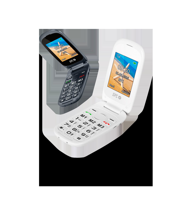 SPC Harmony - Teléfono móvil (Dual SIM, Números y letras