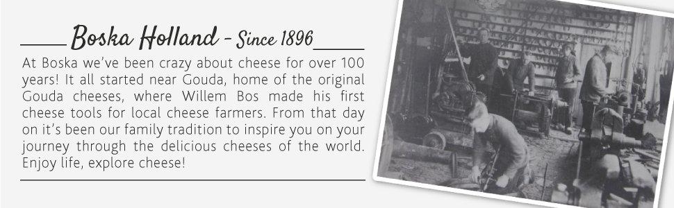 Boska Holland Cheesewares History