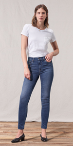 At Jeans Levi's High Skinny Amazon Rise Women's 720 Super 4r7YqR70