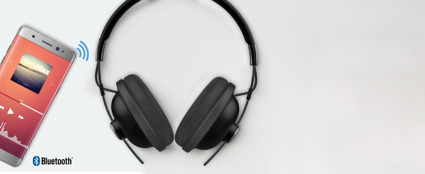 Wireless Over-Ear Headphones—RP-HTX80B bluetooth enabled wifi