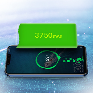 La batería de 3750 mAh de larga duración