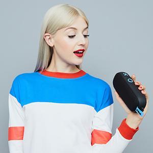 hands-free calling, speaker with speakerphone, bluetooth speaker