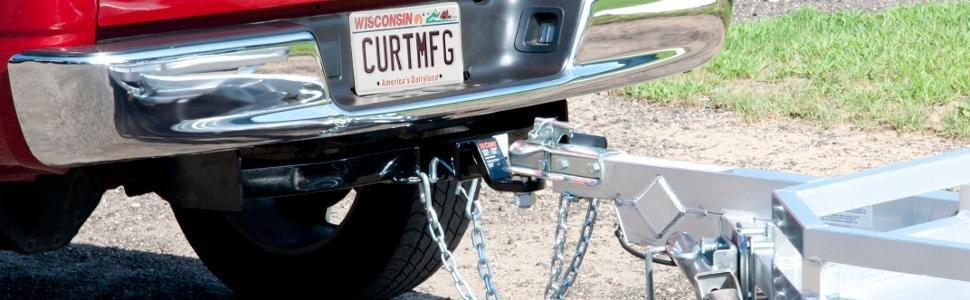 Amazoncom CURT 13345 Class 3 Trailer Hitch Automotive