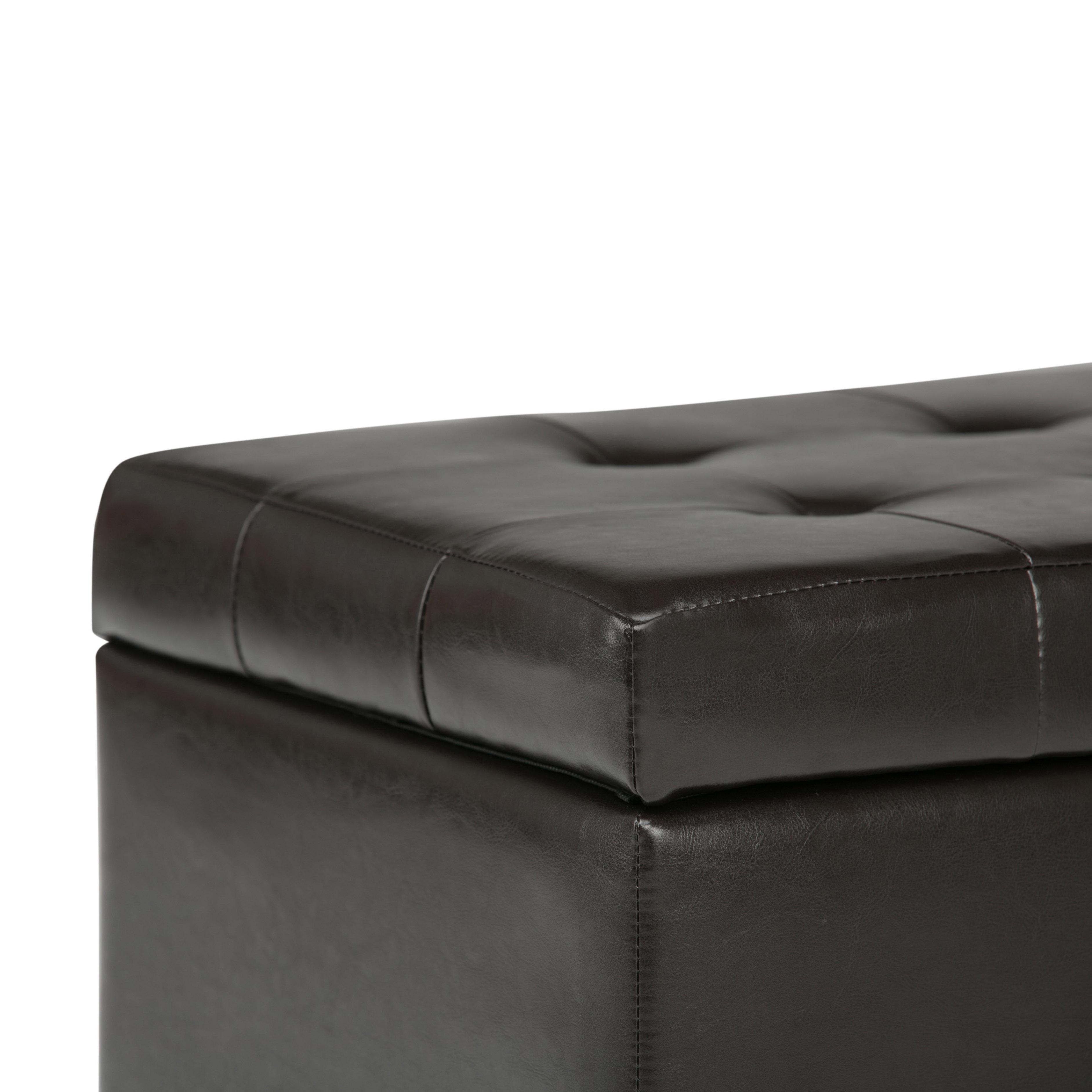 Amazon Com Simpli Home Cosmopolitan Faux Leather