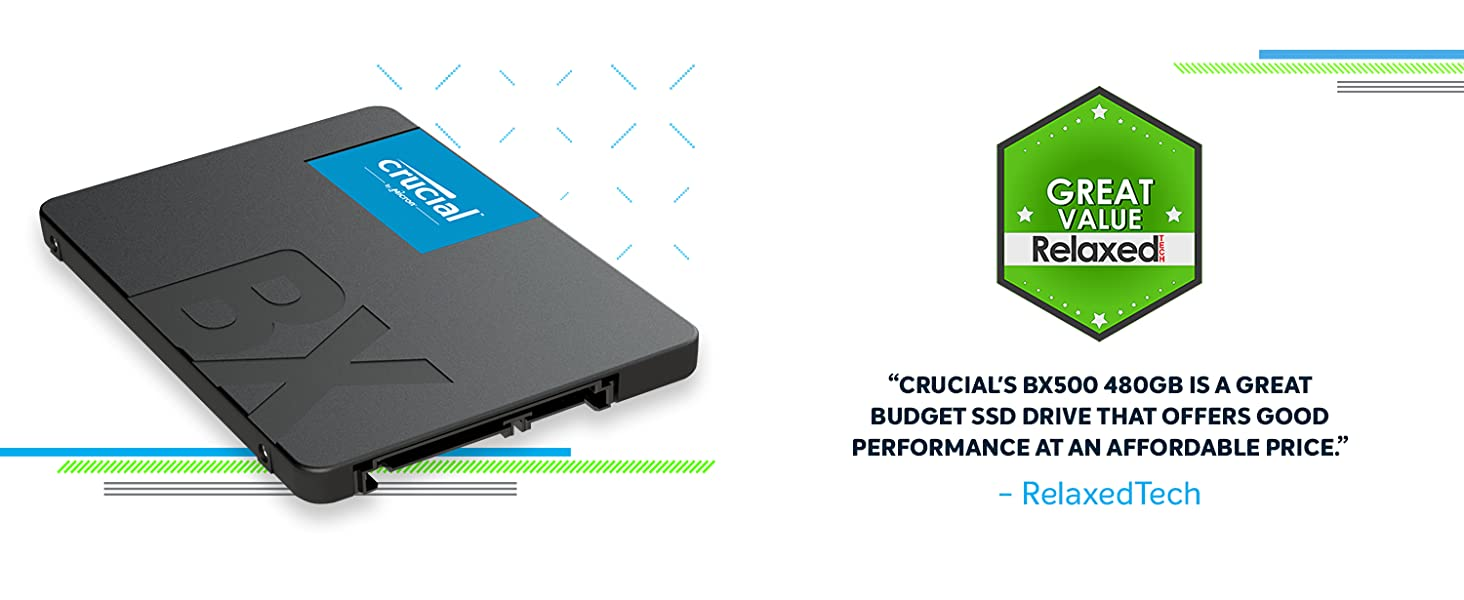 Crucial BX500 - Great Value - RelaxedTech