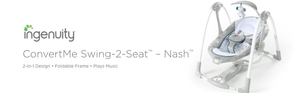 convertme portable swing Nash ingenuity graco