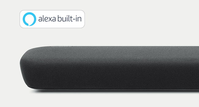 voice control, sound bar, home theater, Alexa built-in, Yamaha AV, home audio