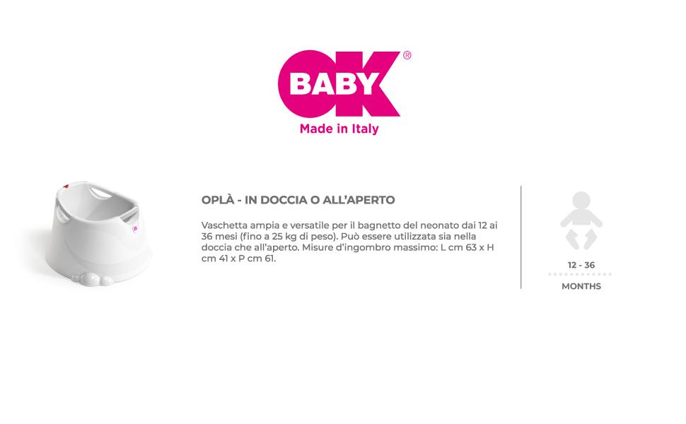 okbaby baby vaschette