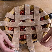 strawberry pie baking cajun