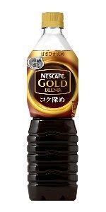 ネスカフェ ゴールドブレンド コク深め ボトルコーヒー 甘さひかえめ 900ml×12本