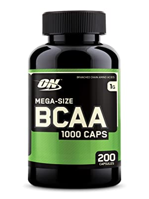 OPTIMUM NUTRITION BCAA CAPSULES BRANCH CHAIN AMINO ACIDS SUPPLEMENT MUSCLE SUPPLEMENT CAPSULES