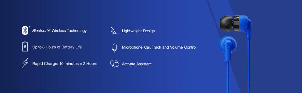 Ink'd Plus Wireless Tech Specs
