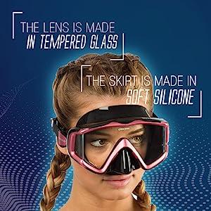 cressi, mask, scuba diving, snorkeling,
