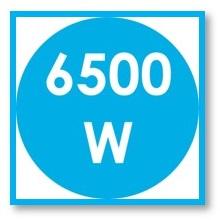 Candy CH64CCB - Encimera vitrocerámica, 6500 W, Vidrio y ...