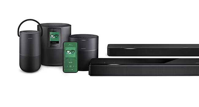 smart speakers, home speakers, alexa speaker, google speaker, soundbar, bluetooth  Bose 5.1 Home Theater Set (Black): Soundbar 700 + Bass 700 + Surround Speakers ae88f9ac cb25 459b 9765 0318a3cdb76b