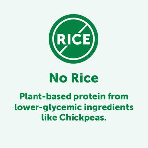 no rice