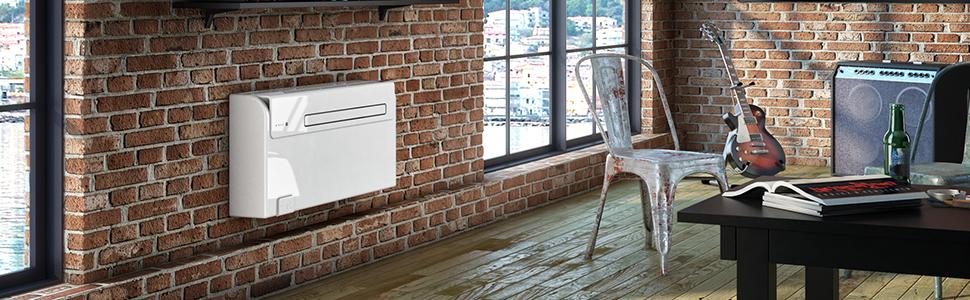 climatiseur fixe sans unite exterieure, autonome,