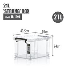 Durable Design: HOUZE - 21L 'STRONG' Box