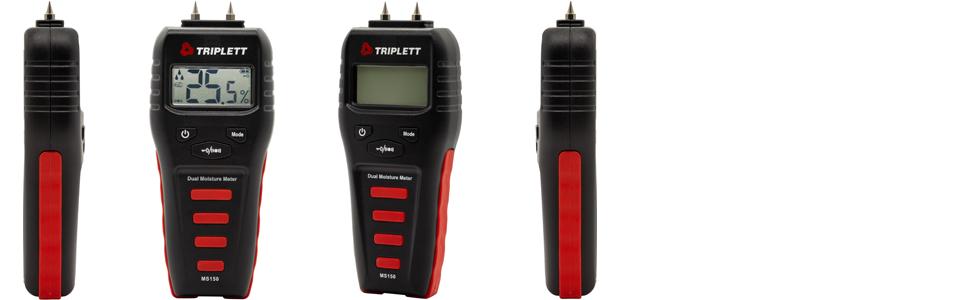 pinless non-destructive non-invasive moisture test meter