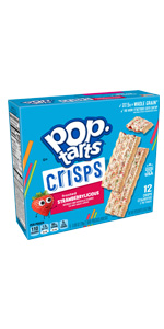 Pop-Tarts Crisps Frosted Strawberrylicious