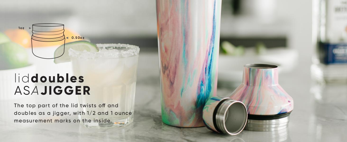 Simple Modern Cocktail Shaker