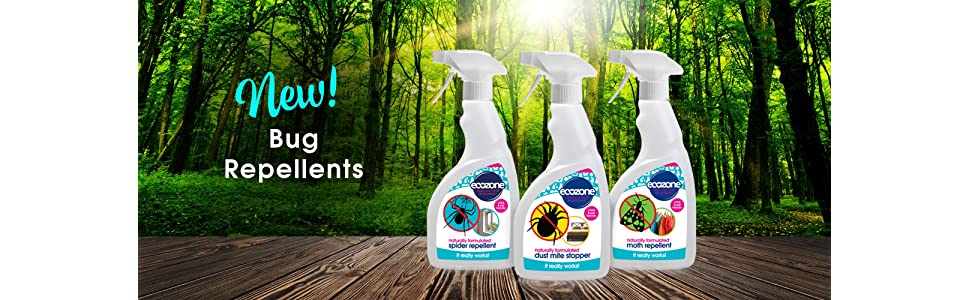 Other Home Cleaning Supplies 2019 New Style Ecozone Moth Repellent 500ml Household Supplies & Cleaning