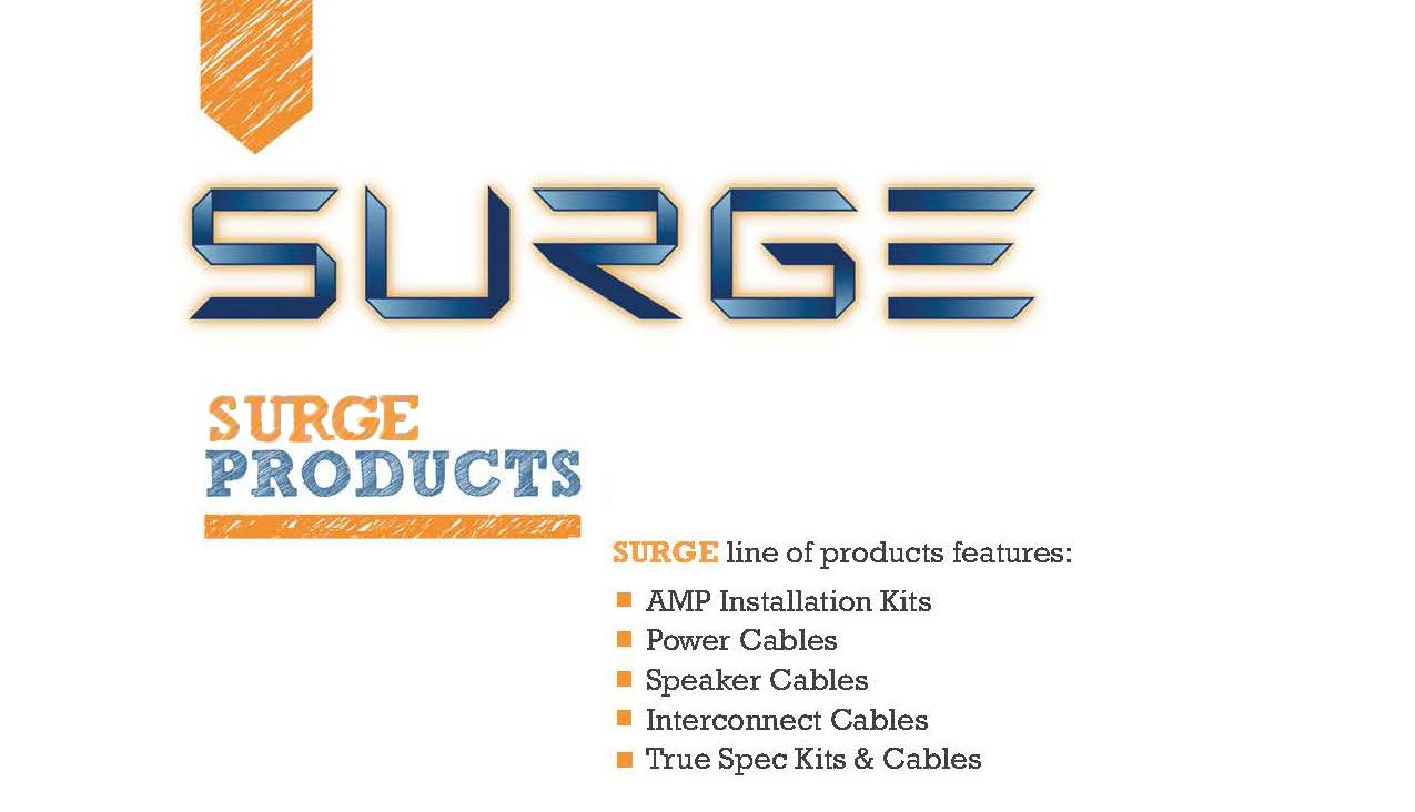 Surge Installer Series Amp Installation Kit 3000 W Ga Gauge Awg Amplifier Wiring Wire Complete Subwoofer Ampkit Speakerwire Rca Cables Power