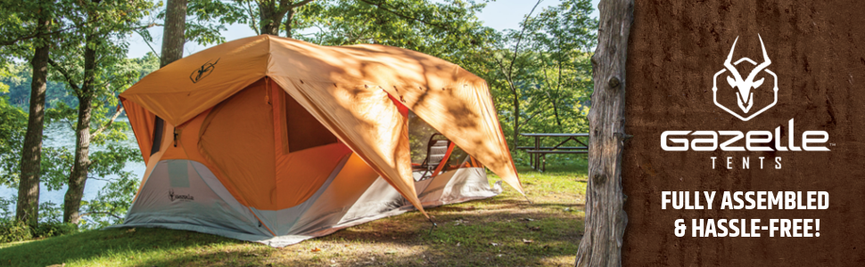 GazelleC&ing Pop-up tent C&ing Tent Easy Tent Portable & Amazon.com : Gazelle 26800 T4 Plus Pop Up Portable Camping Hub ...