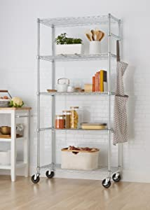 Wire Shelving, Kitchen Cart, Shelving, Shelving Unit, Wire Rack, Storage,