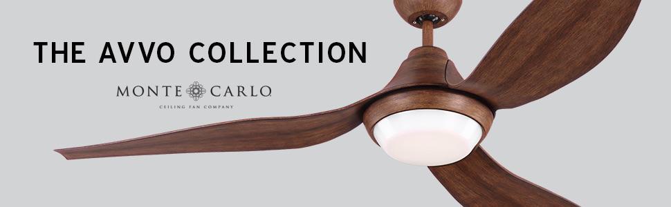 Monte carlo avvo 3avor56gryd grey 56 indooroutdoor energy indoor ceiling fan outdoor ceiling fan aloadofball Choice Image