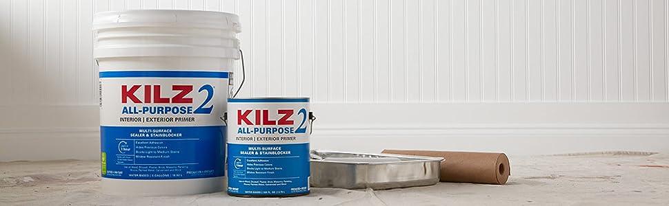 Amazon Com Kilz Restoration Maximum Stain And Odor Blocking