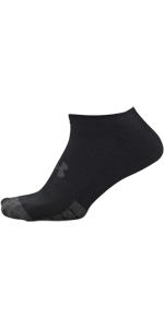 Performance Tech no show, new under armour, black socks, white socks, breathable socks, arch support