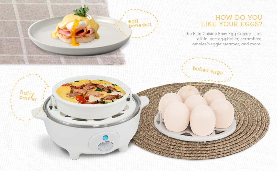 Maxi-Matic EGC-007T Electric Egg Cooker