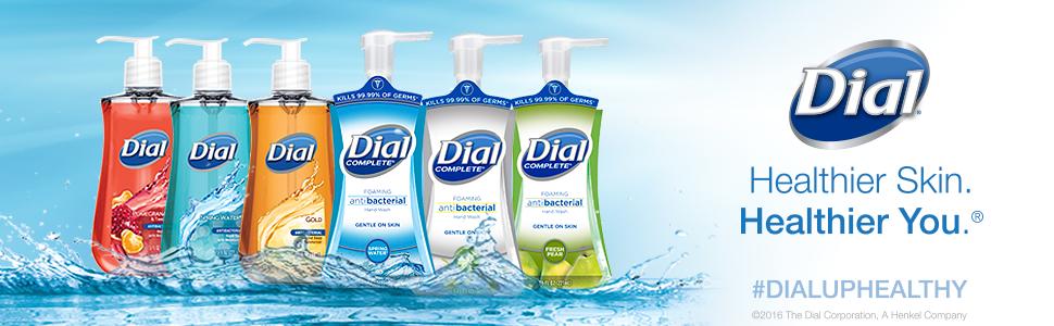 Amazon Com Dial Antibacterial Liquid Hand Soap Gold 7 5