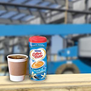 Nestlé Coffee-mate French Vanilla powdered coffee creamer is our version of Americas favorite creamer flavor. Our rich, creamy classic version will enhance ...