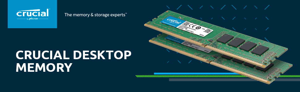 Crucial DDR4 DIMMS