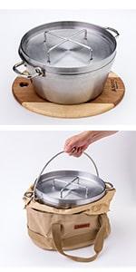 ステンレスダッチオーブン