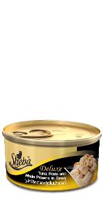 Sheba cans