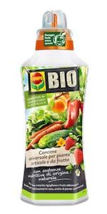 Concime biologico liquido orto frutta