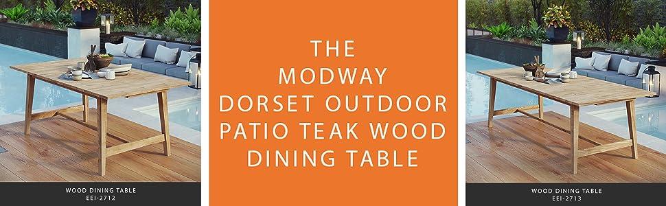 Amazon.com: Modway eei-2712-nat Dorset al aire última ...