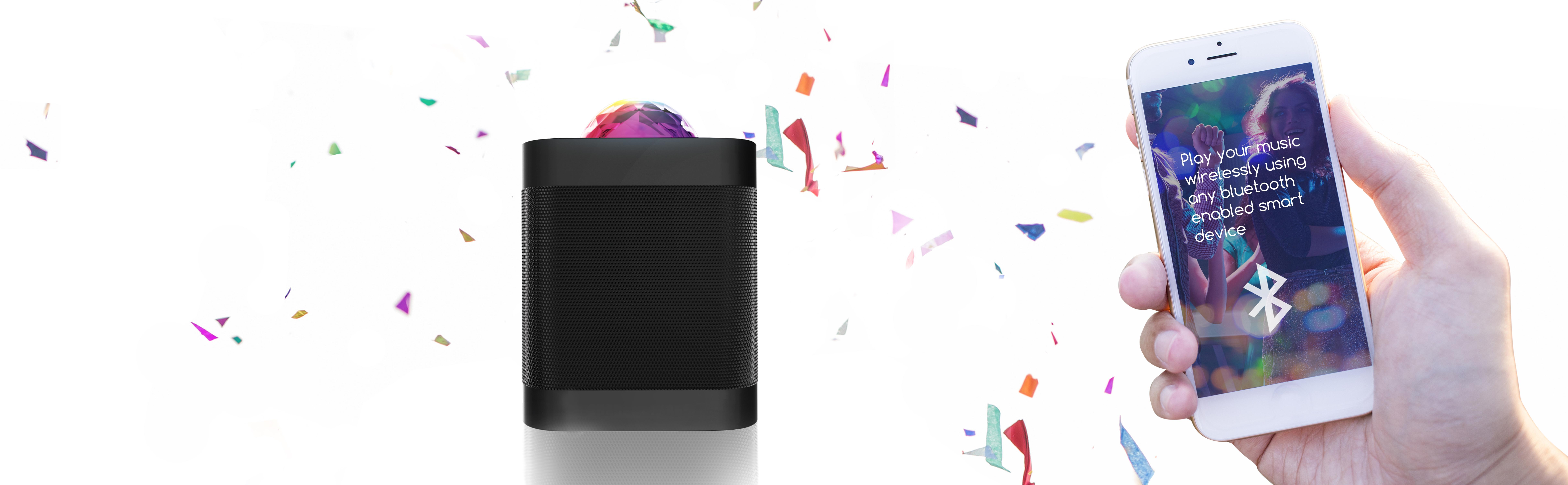 Amazon Com Sharper Image Sbt613 Bluetooth Speaker With