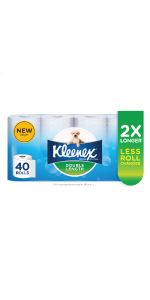 KLEENEX Double Length Toilet Tissue