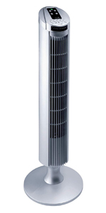 Garza Alisio - Ventilador de torre de pie silencioso con 45W de ...