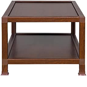 Charming ECO 50 JPCTTK 100% Recycled Paper Coffee Table, Teak