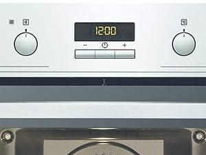 Electrolux EOB3430DOX Horno Multifunción Limpieza Aqua Clean, 8 funciones, Cavidad XXL, Display LED, Mandos Escamoteables, Puerta 2 cristales, Antihuellas, Carriles telescópicos, Inox, Clase A+, 72 L: 245.33: Amazon.es: Grandes electrodomésticos