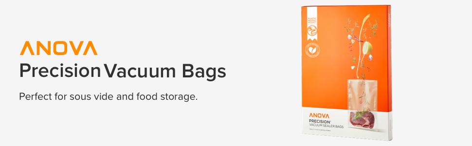 sous vide, vacuum seal bags, vacuum sealer, food storage, slow cooking