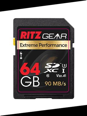 ritz gear extreme performance sdxc memory card