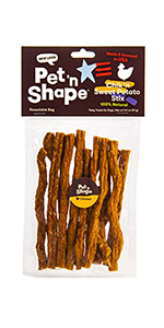 beef dog treat, dog treat, dog treats, chik n sweet potato stix